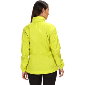 Regatta Corinne IV Waterproof Shell Jacket Women, neon spring